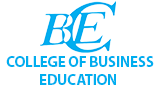 College of Business Education.